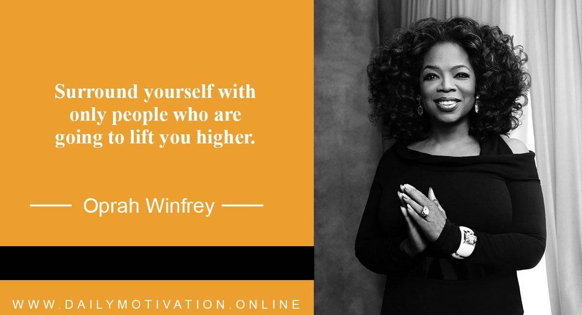 Oprah Winfrey Motivational Quotes